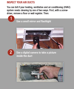 Self Inspection TIP (Dave's Duct Cleaning)